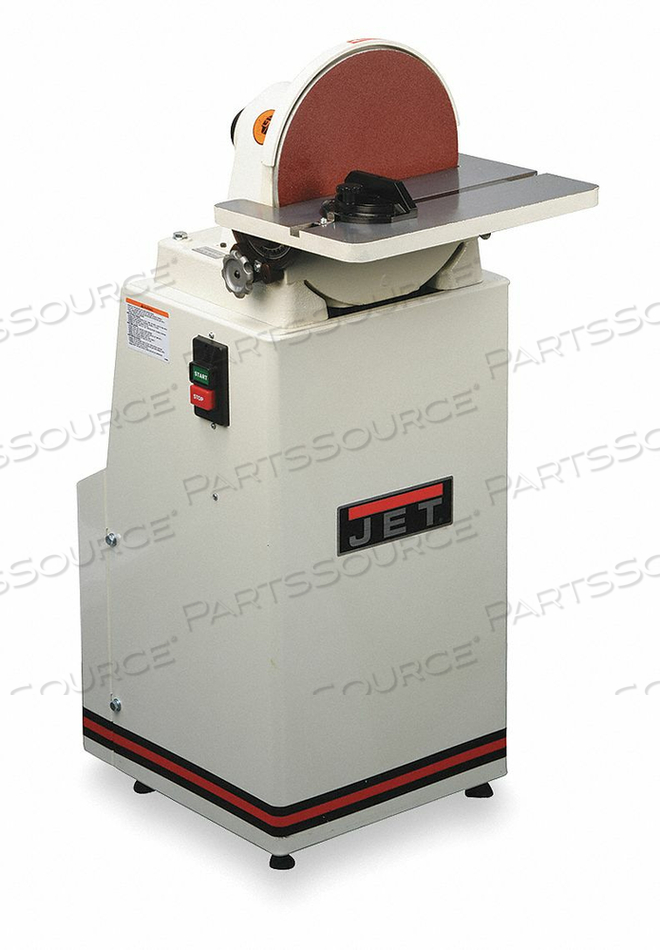 DISC SANDER 12 IN 1-1/2 HP 1960 RPM by Jet