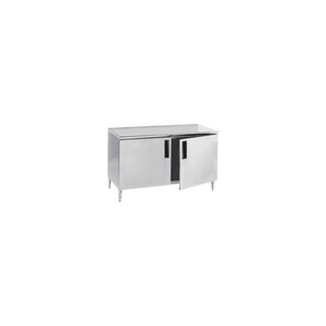 """14 GAUGE WORK TABLE 304 STAINLESS STEEL - HINGED DOOR CABINET 84""""W X 30""""D by Advance Tabco"""