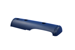 ACCENT GRIP-BOTTOM LEFT HAND, BLUE by Stryker Medical