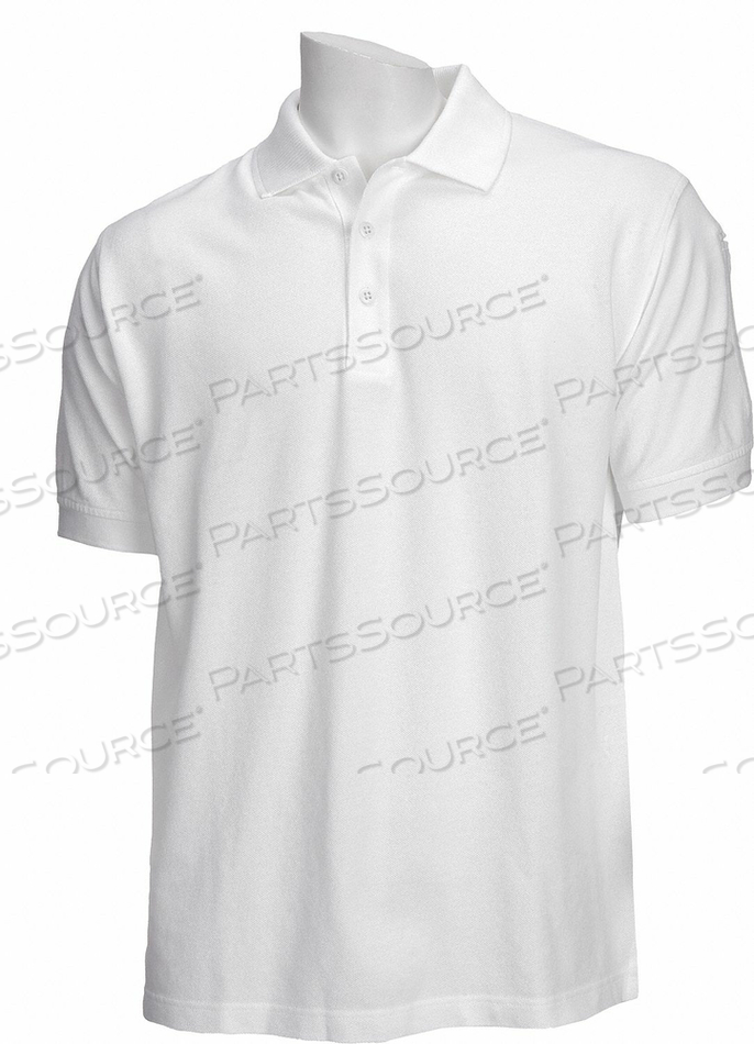 D4693 PROFESSIONAL POLO WHITE 2XL by 5.11 Tactical