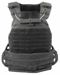 PLATE CARRIER TACTICAL VEST BLACK NYLON by 5.11 Tactical