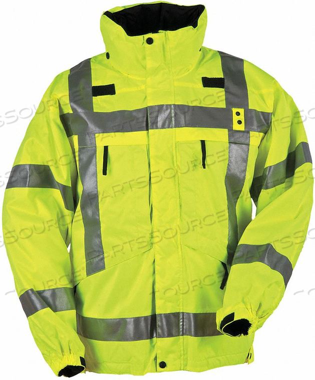 3-IN-1 PARKA L REFLECTIVE YELLOW by 5.11 Tactical