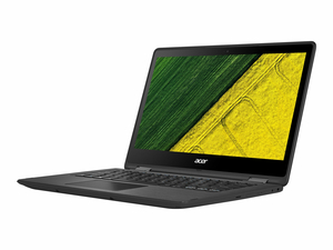 "ACER SPIN 5 SP513-51-34UA - FLIP DESIGN - CORE I3 6006U / 2 GHZ - WIN 10 HOME 64-BIT - 4 GB RAM - 128 GB SSD - 13.3"" IPS TOUCHSCREEN 1920 X 1080 (FULL HD) - HD GRAPHICS 520 - WI-FI, BLUETOOTH - OBSIDIAN BLACK - KBD: US INTERNATIONAL by Acer (America)"