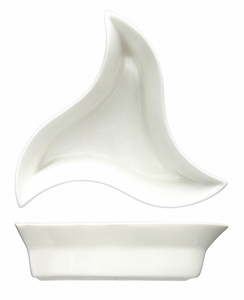 STAR APPETIZER DISH 6 INCH WHITE PK36 by ITI