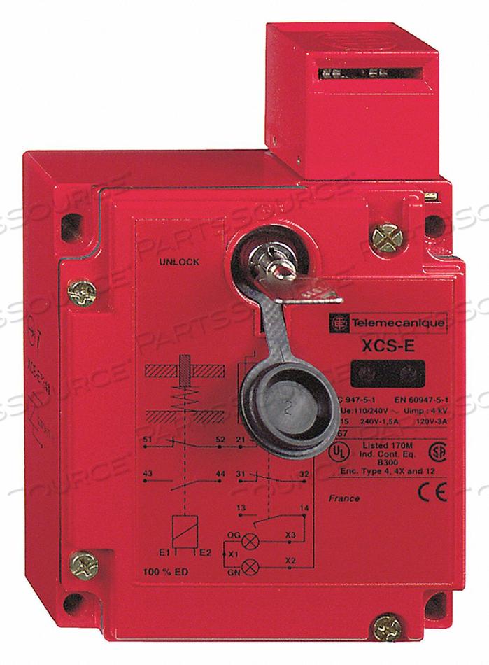 SAFETY INTERLOCK 300VAC 5A TXCS by Telemecanique Sensors