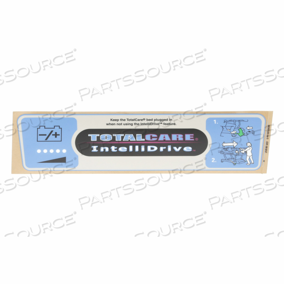 LABEL BATTERY CHARGE/HDEND-ENG by Hillrom