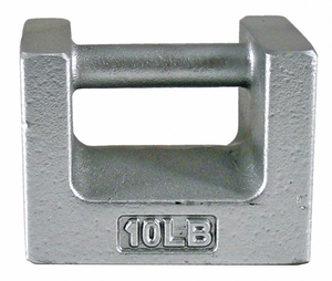 WEIGHT GRIP HNDLE 10LB CAST IRON CLASS 7 by Rice Lake Weighing Systems