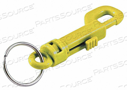 PLASTIC KEY CLIP L 3 1/2 IN by Lucky Line Products