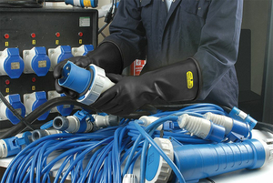 ELECTRICAL INSULATING GLOVES TYPE II 10 by Ansell Healthcare