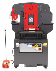 IRONWORKER 23A 1 PHASE 5 HP 230V 40 TONS by Edwards Signaling