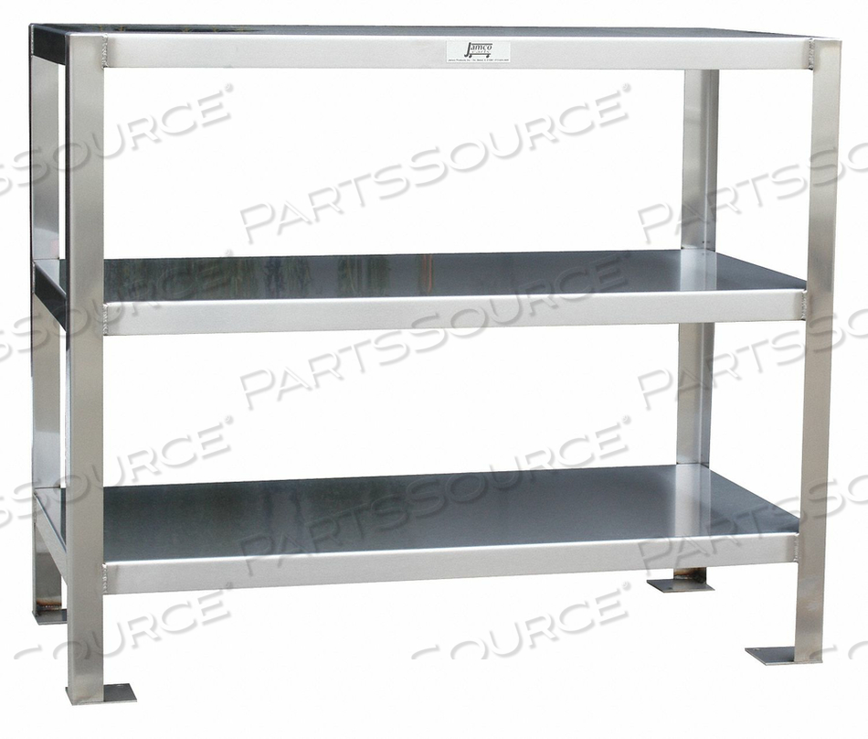 FIXED WORK TABLE SS 36 W 18 D by Jamco