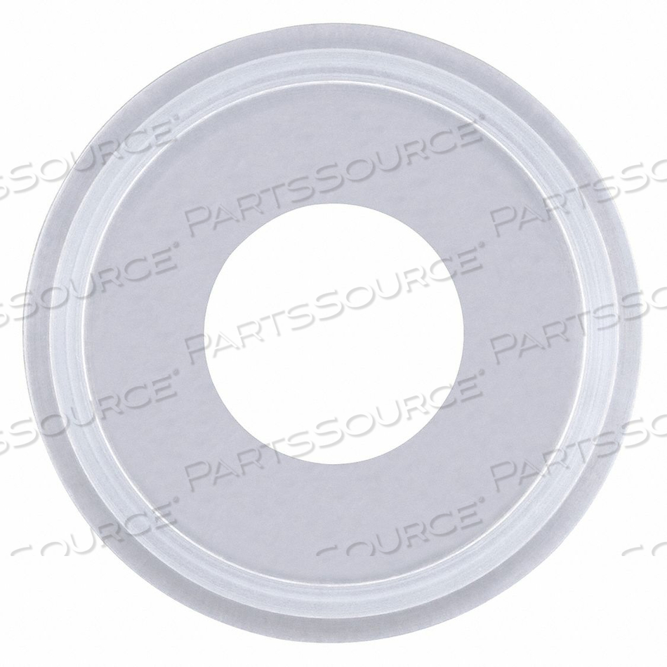GASKET SIZE 1 IN TRI-CLAMP SILICONE by Rubberfab