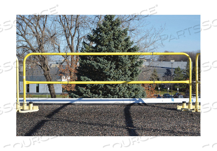 SAFETY GUARDRAIL YELLOW by Garlock Safety Systems