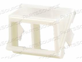 PANDUIT NETKEY CLASSIC SERIES - MODULAR INSERT HOUSING - INTERNATIONAL GRAY - 2 PORTS (QTY PER PACK: 10) by Panduit