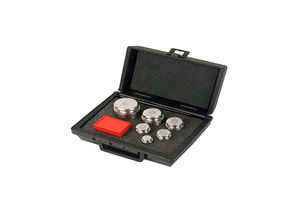 WEIGHT SET, 1 MG TO 2000 G, STAINLESS STEEL, 4.11 KG, 26 PIECES WITH TRACEABLE CERTIFICATE by Troemner, LLC