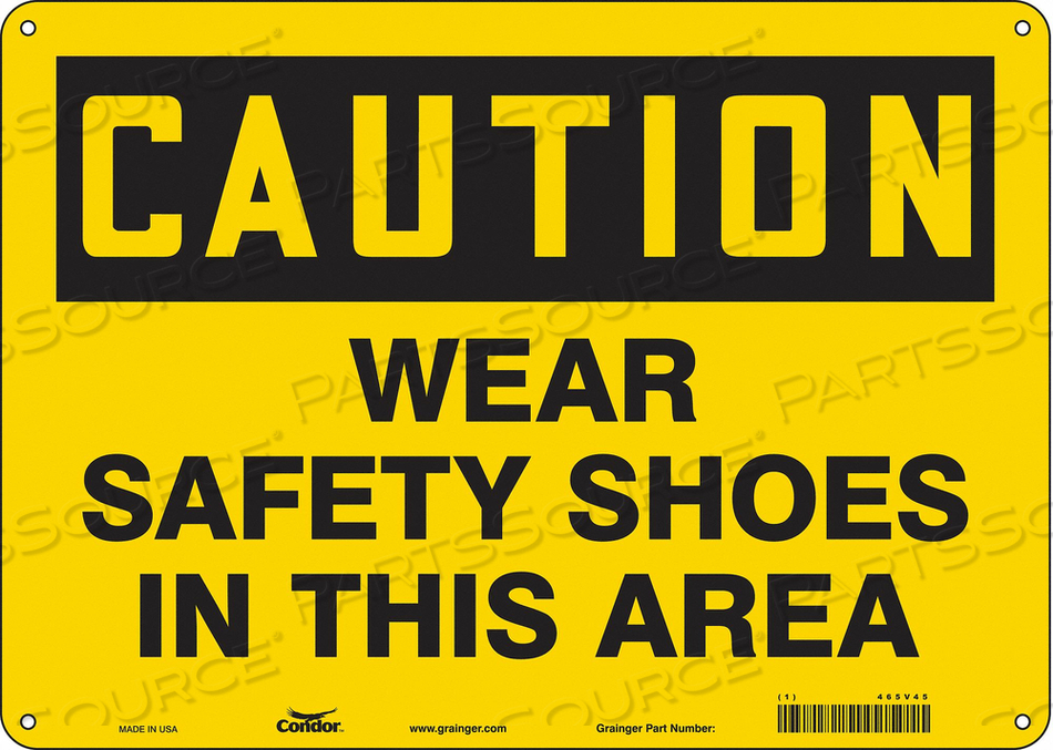 J6975 SAFETY SIGN PERSONAL PROTECTION 10 H by Condor