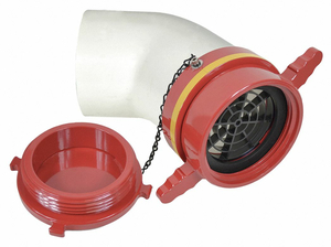 DRY HYDRANT 45 ADAPTER 6 IN FEMALE by Moon American