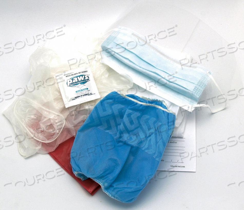BIOHAZARD PPE KIT BIOHAZARD BAG by Medique