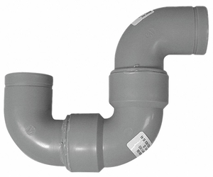 P-TRAP 4 IN NO HUB POLYPROPYLENE by Orion
