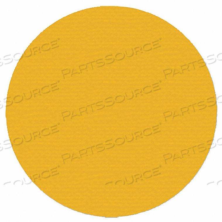 IND FLOOR TAPE MARKERS DOT YELLOW PK200 by Mighty Line