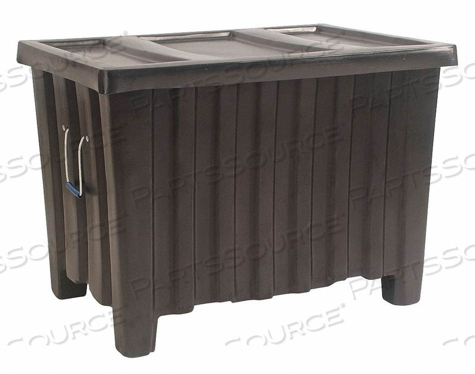 CONTAINER 14 CU.-FT. 500 LBS. BLACK by Myton Industries