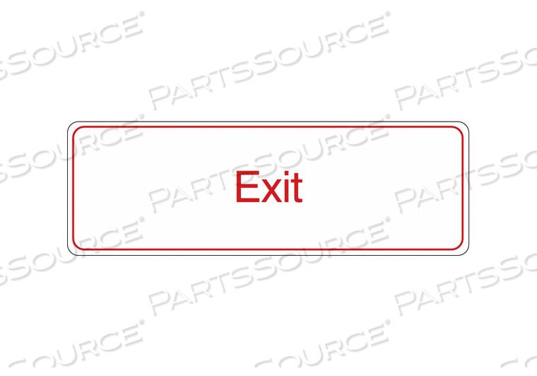 SIGN EXIT 3 X9 by Condor