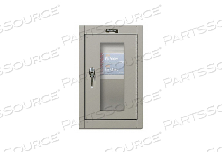 G6779 WALL CABINET 26 H 16 W GRAY by Hallowell