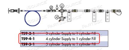 TRANSFILLER OXYGEN/4S X 1F by Western Enterprises
