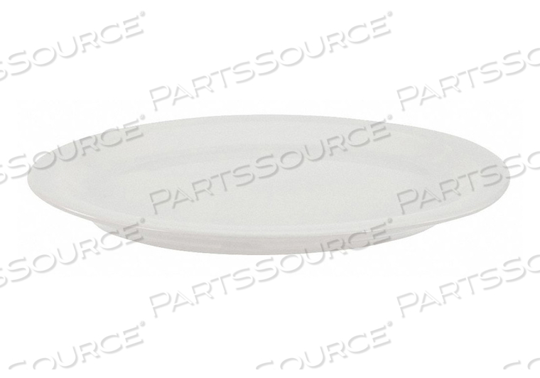 PLATTER 9-5/8 X 8 IN. BRIGHT WHITE PK24 by Crestware