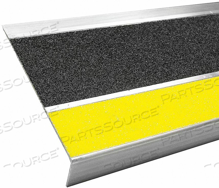 STAIR TREAD COVER BLACK 60IN W ALUMINUM by Bold Step