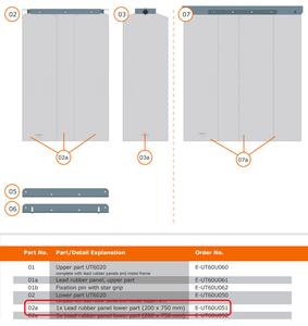 LOWER SECTION SINGLE STRIP by MAVIG GmbH