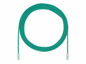 PANDUIT TX5E-28 CATEGORY 5E PERFORMANCE - PATCH CABLE - RJ-45 (M) TO RJ-45 (M) - 15 FT - UTP - CAT 5E - IEEE 802.3AF/IEEE 802.3AT - HALOGEN-FREE, SNAGLESS, STRANDED - GREEN by Panduit