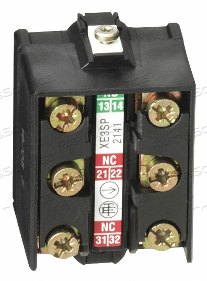 LMT SWITCH 3 CONTACT BLOCK 240VAC 3A XE3 by Telemecanique Sensors