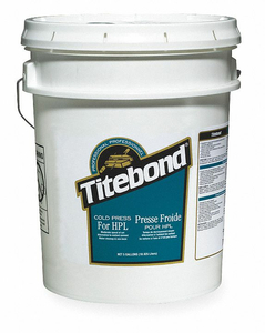 GLUE COLD PRESS FOR HPL 5 GAL OFF WHITE by Titebond