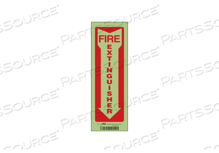 K2114 SAFETY SIGN 4 W 12 H 0.010 THICKNESS by Condor