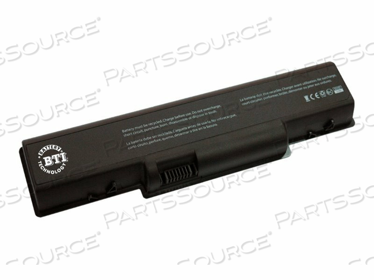 BTI - NOTEBOOK BATTERY - 1 X LITHIUM ION 6-CELL 4400 MAH - FOR GATEWAY NV52L06, NV52L08, NV53A10, NV53A12, NV5473, NV5474, NV59C04, NV59C05, NV59C63