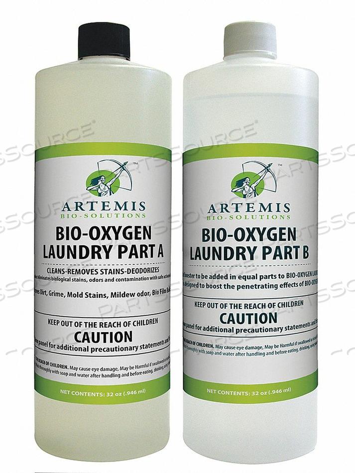 LIQUID BIO-OXYGEN DETERGENT 1 QT. BOTTLE by Bio-Oxygen