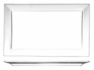 PLATTER 11X6-3/4 BRIGHT WHITE PK12 by ITI