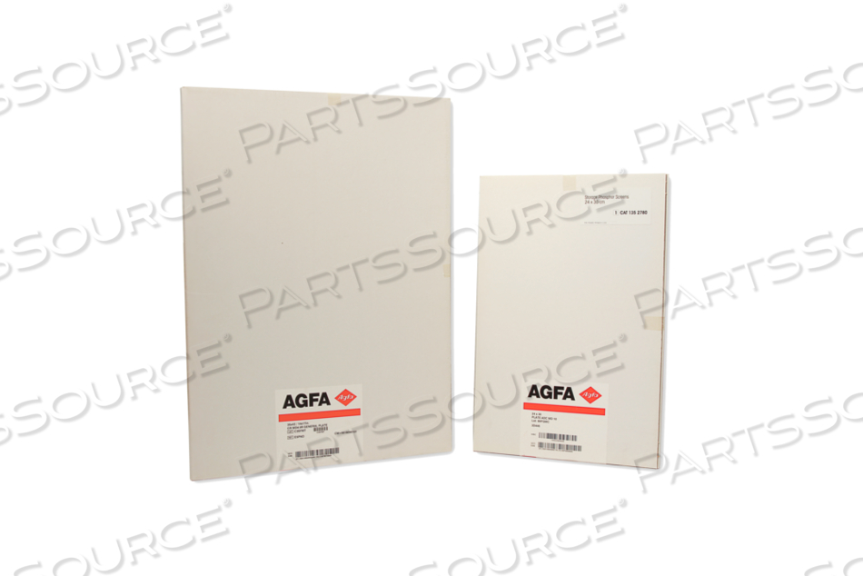 NEW 10X12 IN. AGFA MD4.0 IMAGING PLATE ONLY FOR USE IN AGFA SR CASSETTE. by RC Imaging (Formerly Rochester Cassette)