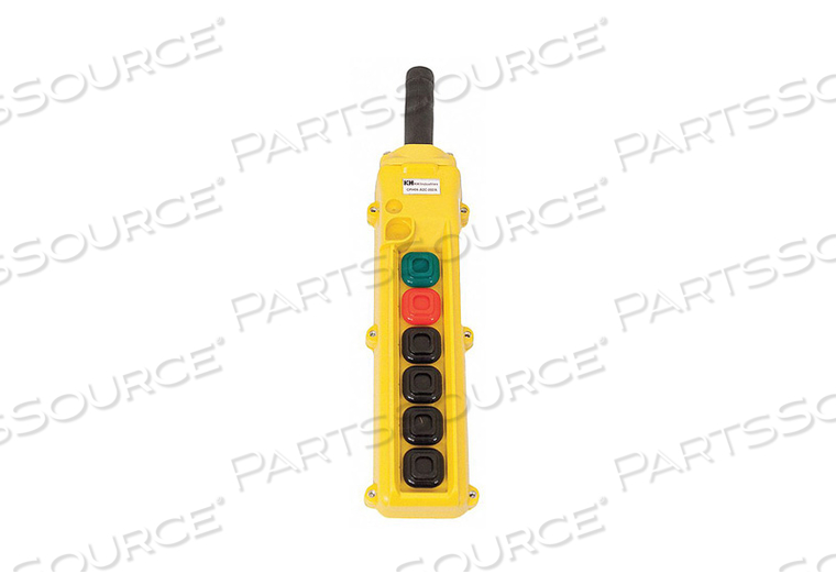 PENDANT STATION 6 PUSH BUTTON NO NC by KH Industries