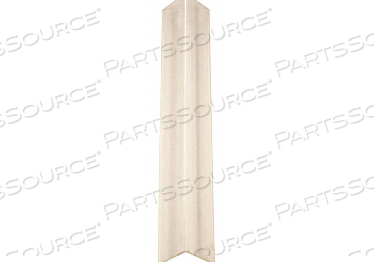 CORNER GUARD CLEAR UNDRILLED 3/4X48 IN. by Pawling Corp