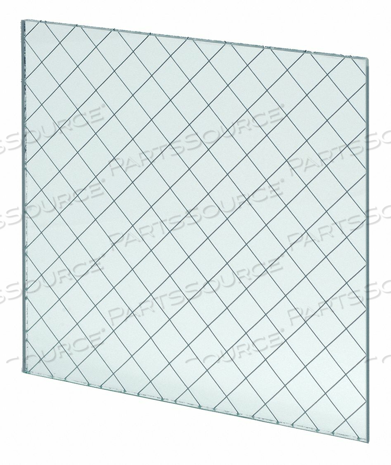 FIRE RATED WIRED GLASS 6INX21IN by National Guard Products