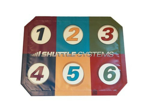 """GRAPHIC KICKPLATE COVER (24X30"""") - MULTI-COLORED by Shuttle Systems - Contemporary Design"""