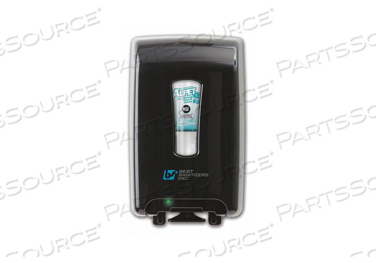 HAND SANITIZER DISPENSER 1250ML BLACK by Best Sanitizers Inc.