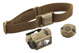 TACTICAL HEADLAMP 55 LM COYOTE 1.07 DIA by Streamlight
