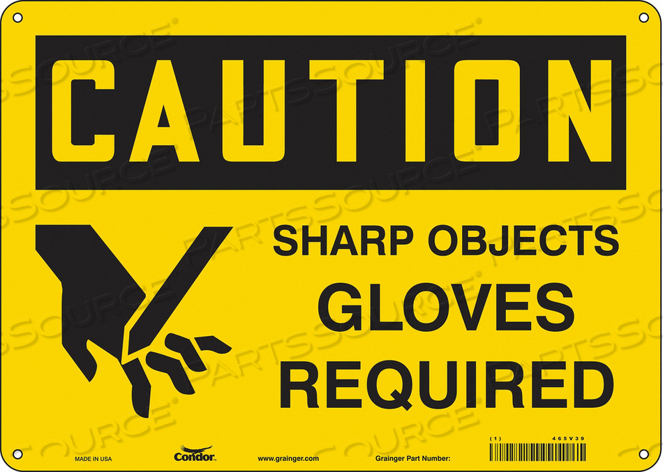 SAFETY SIGN PERSONAL PROTECTION 10 H by Condor