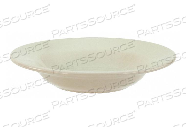 RIMMED SOUP BOWL BONE WHITE 8 OZ. PK36 by Crestware