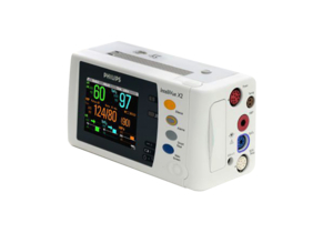 REPAIR - PHILIPS INTELLIVUE X2 MMS (M3002A) PATIENT MONITOR