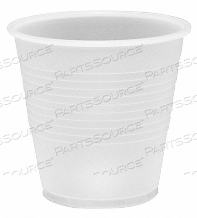 DISPOSABLE COLD CUP 5 OZ. CLEAR PK2500 by Dart