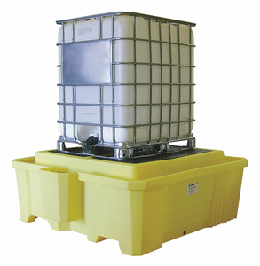 IBC CONTAINMENT UNIT 29-1/2 IN H YELLOW by Enpac